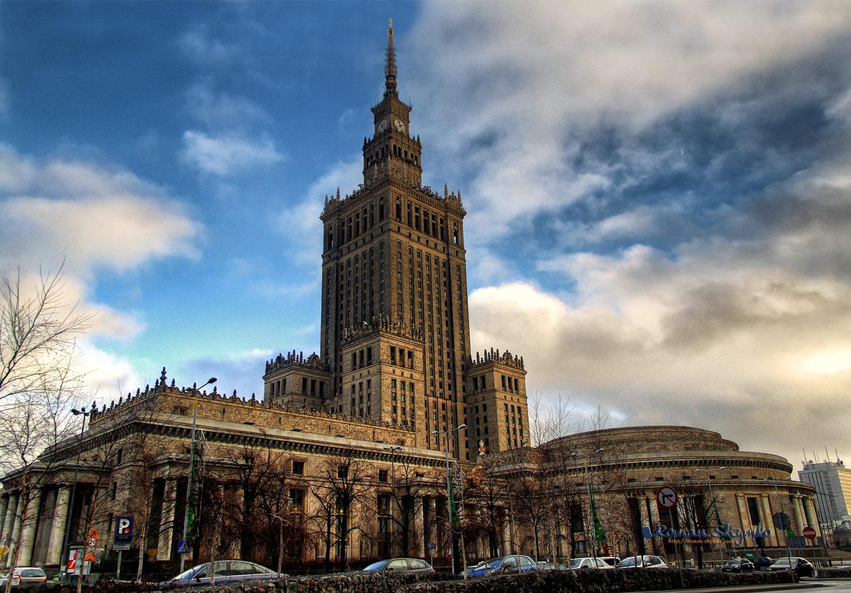 Varshava Dvorec Kultury I Nauki Turnavigator