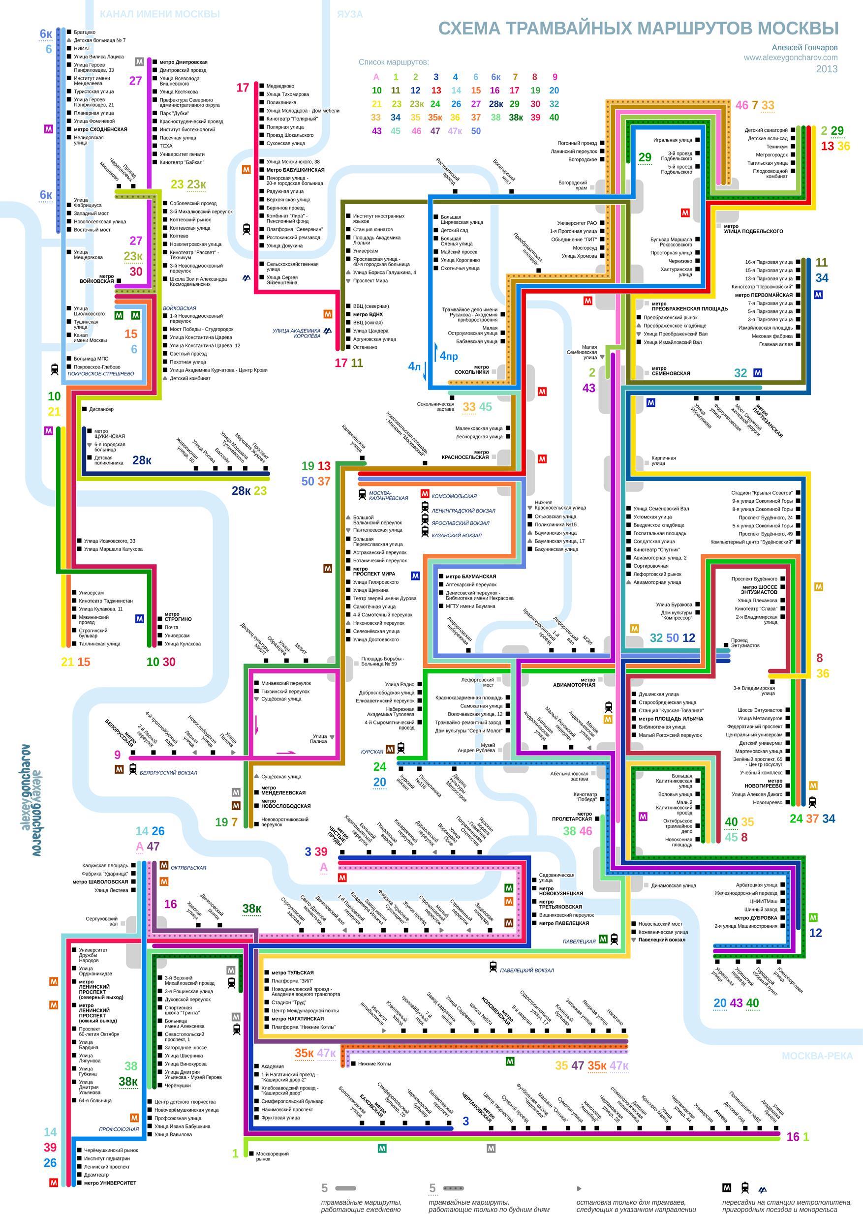 Схема трамваев москвы на карте фото 673