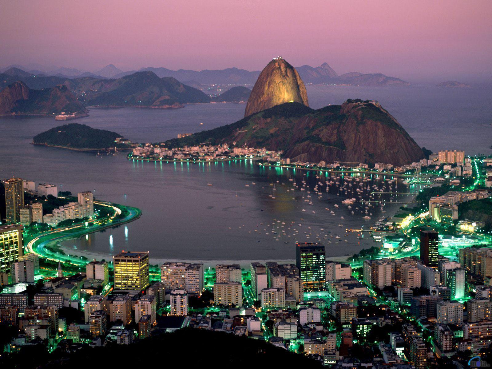 Обои гуанабара, Бразилия, бухта, рио-де-жанейро, Залив. Города foto 14