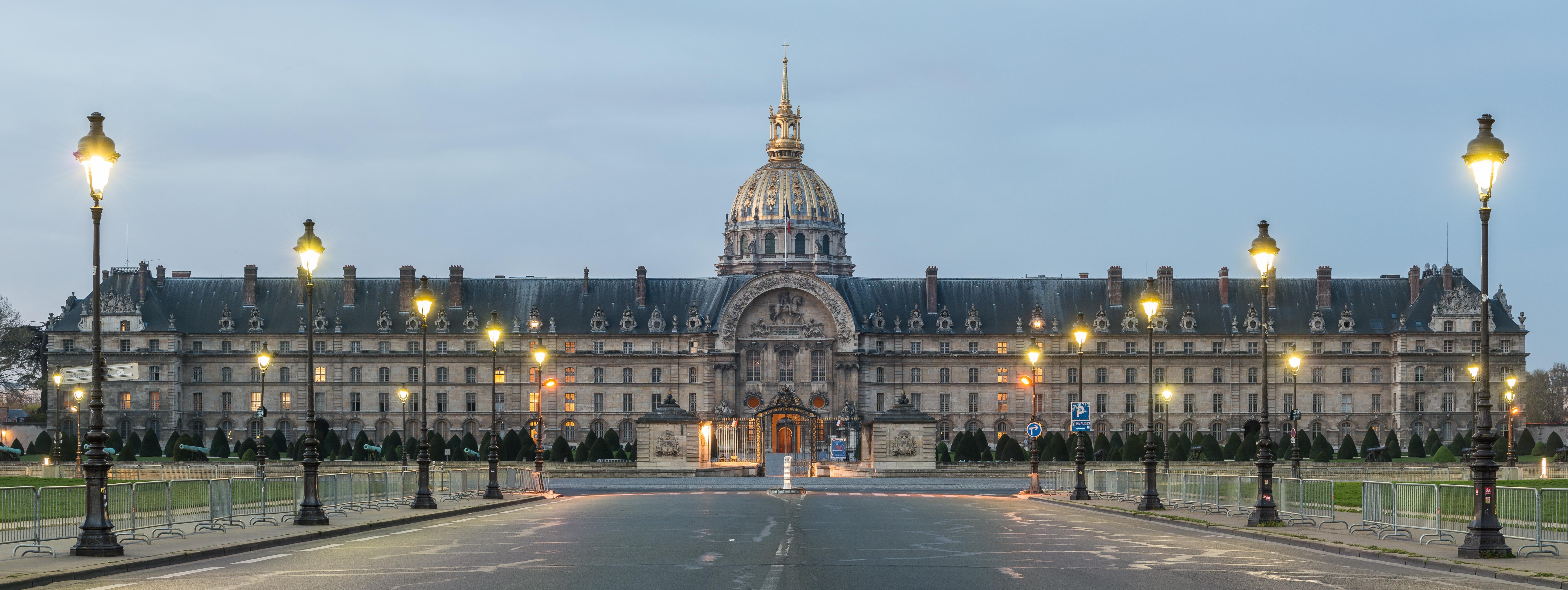Обои Государственный Дом Инвалидов, купол, Инвалиды. Города foto 15