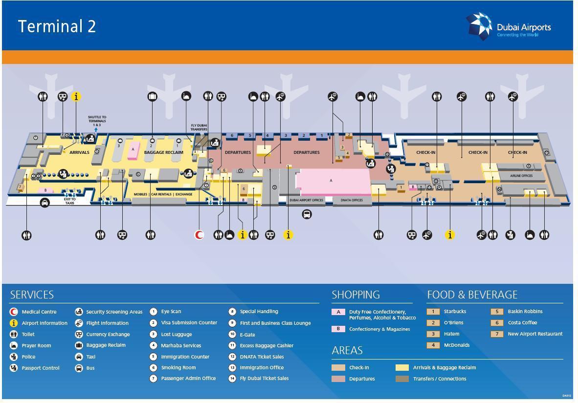 Схема аэропорта в дубаи фото 784